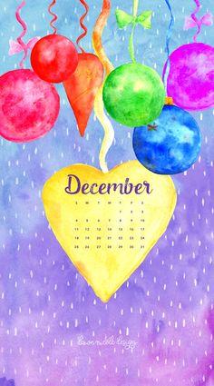 December 2016 Calendar, December 11, Calendar Wallpaper, Pretty Wallpapers, Desktop, Phone, Art, Art Background, Telephone
