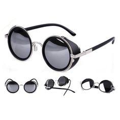7fe608b310b Steampunk Classic Frame Sunglasses Nerd Gadgets