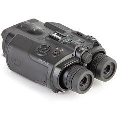The 3D Camcorder Binoculars - Hammacher Schlemmer $2000.