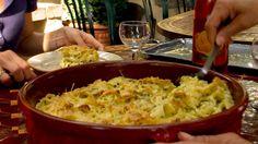 Gratin de lasans | Zeste Rigatoni, Guacamole, Mashed Potatoes, Macaroni And Cheese, Nom Nom, Ethnic Recipes, David, Food, Goat Cheese