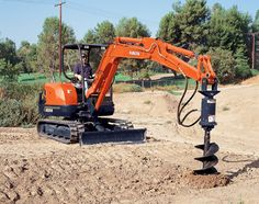 Kubota Tractor Corporation - Construction Equipment | KX Series | KX121-3S 6-in-1 Blade Compact Excavator