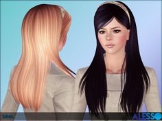 Emma's Simposium: Free Hair Pack #20 By Alesso - Donated-Requested!!!