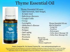 EXCELLENT oil for Tick-Bourne Diseases (TBDs). Its in ParaFree (powerful anti-parasitic) & Rehemogen (tincture - blood purifier) Why I'm Passionate about Essential Oils :) Young Living Thyme Essential Oil Thyme Essential Oil Uses, Essential Oil Carrier Oils, Essential Oils For Pain, Essential Oil Scents, Young Living Essential Oils, Healing Oils, Young Living Oils, Yl Oils, Wellness