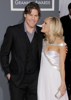 Carrie Underwood and Mike Fisher are the cutest new parents!