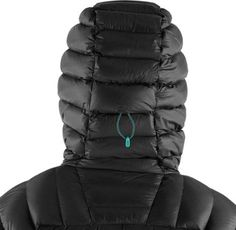 Hood up back adjustment (Black/Bluebird)