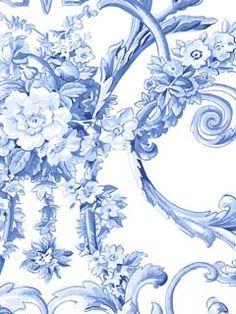 4415E0510 - Wallpaper | STROHEIM COLOR GALLERY COBALT | AmericanBlinds.com