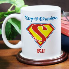 Personalized Super Dad Coffee Mug - Gifts Happen Here - 1