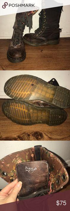 eba819ec2c8 Martens Lace up combat boots! RARE! Great condition! Dr. Martens Shoes  Combat   Moto Boots