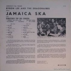 jamaican poems | Ska from 1964 featuring Byron Lee and the Dragonaires Jamaica's ...
