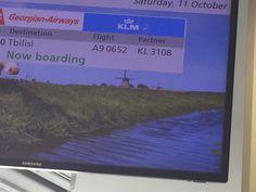 vertrek naar Tbilisi lokatie Schiphol Amsterdam
