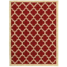 ORDERED Shaw Rugs Mirabella Milazzo Red Rug