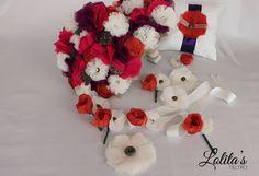 Preciosos ramos y complementos de novia de Raquel. #wedding #bodas #ramosdenovia #ramosdenoviadetela #ramosoriginales #fashion #weddingbouquet #love