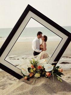 idées photo de mariage couple cadre                                                                                                                                                     Plus