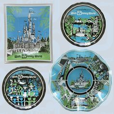 """A Look Back at Early Walt Disney World Resort Merchandise. You may notice the name """"Walt Disney Productions"""" on the items. That was the corporate name used on merchandise until February 6, 1986, when it was changed to The Walt Disney Company."""