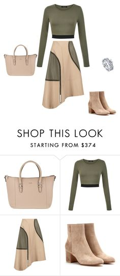 """Untitled #5379"" by explorer-14576312872 ❤ liked on Polyvore featuring Joop!, TIBI, Gianvito Rossi and BERRICLE"