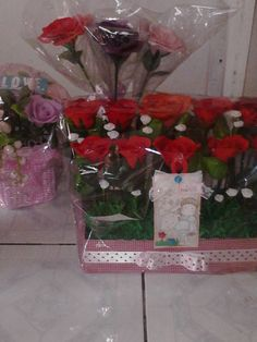 """romantic """"soap flowers  bouquet"""""""