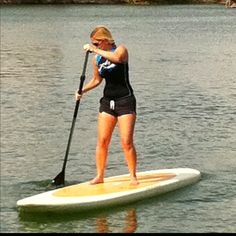 SUP or stand paddle boarding.A new hobbie I wish to get into!