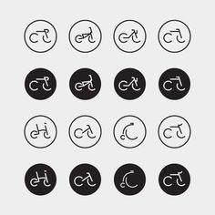 CycleLove — celebrating bike culture by James Greig, via Behance
