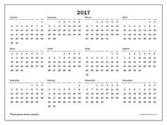 Livre! Calendários para  2017 para imprimir