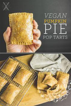 vegan pumpkin pie pop tarts | http://boardsandknives.com
