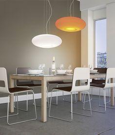 Lumière variable - Suspension LED Q-Elina Kitchen Lighting Fixtures, Light Fixtures, Paul Neuhaus, Diy Furniture Redo, Smart Home, Cuisines Design, Furniture Arrangement, Dining Table, Modern Kitchens