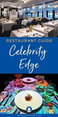 Celebrity Edge Restaurant Menus and Guide - Our Celebrity Edge Restaurant Menus and Guide is a complete overview of all the complimentary and specialty restaurants on the cruise ship. Cruise Checklist, Cruise Tips, Cruise Vacation, Eden Restaurant, Restaurant Guide, Caribbean Cruise, Royal Caribbean, Five Course Meal, Cruise Reviews