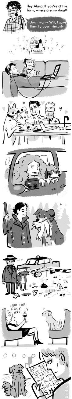 #Hannibal fan art. Source: grimis.tumblr