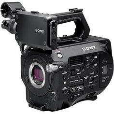 Sony PXW-FS7 XDCAM Super 35 Camera System.  Mmmm, new ENG cams.