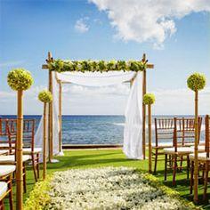 Beach Wedding Ceremony Decorations | The Wedding Specialists