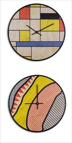 MODERN CLOCK DESIGN https://blog.pianetadonna.it/anomaj/che-ora-e-20-bellissimi-orologi-da-parete-moderni/ #clock #time #design #homedecor #homedesign #style #homeblogger