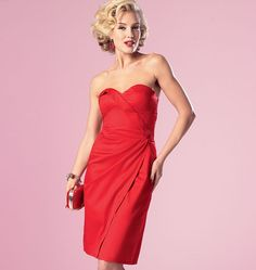 Love the colour and style but not the bust design. Assignment: Butterick 6019