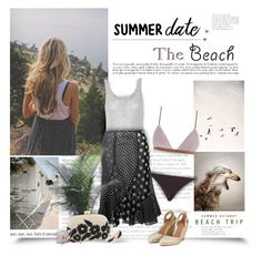 """""""Beach Date"""" by thewondersoffashion ❤ liked on Polyvore featuring Abercrombie & Fitch, T By Alexander Wang, Zimmermann, Serpui, Aquazzura and Etro"""