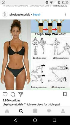 Idea, secrets, furthermore overview in pursuance of receiving the most effective outcome and also making the max perusal of slim waist workout Bh Fett Training, Fitness Inspiration, Tiny Waist Workout, Fitness Tips, Fitness Motivation, Lean Legs, Thigh Exercises, Deep, Workout Videos