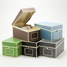 Semikolon CD Photo Box, (Organize your business cards or recipe cards too)