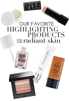 Get the luminous Spring glow you've always wanted with these 6 AH-MAZING highlighters!