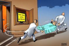Cartoon by SHadi Ghanim 31/12/2014 #Caricature #Cartoon