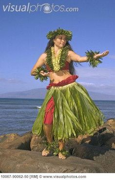 traditional hawaiian hula costumes - Google Search