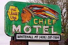 Chief Motel Whitehall, Montana
