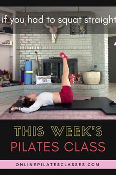 Don't worry you don't have to fall in love with Russian Squats this week. But, I do want you to fall in love with your strength! This week whether you are on the Mat or the Reformer we will focus on standing in your feet, working from your Thass™ and discovering how much your whole center works with you. No props needed but you will want to have access to a wall. Pilates Body, Pilates Reformer, Pilates Workout, Pilates Equipment, No Equipment Workout, Fit Board Workouts, At Home Workouts, Fitness Exercises, Fitness Tips
