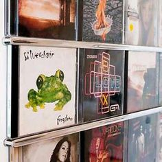 CD Display Frame Displaying Your Music AS ART Funky Wall Decor OR Ornaments | eBay