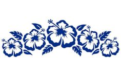 Hibiscus Strip # 2 Sticker, $8.00