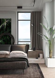 The Home Decor Guru – Interior Design For Bedrooms Contemporary Interior Design, Decor Interior Design, Interior Decorating, Design Interiors, Decorating Ideas, Luxury Home Decor, Luxury Interior, Luxury Furniture, Interior Exterior