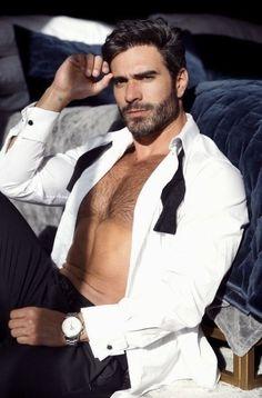 Suits You, Mens Suits, Hommes Sexy, Hot Hunks, Man Photo, Hairy Men, Attractive Men, Man Crush, Gorgeous Men