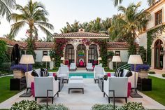 Loving this outdoor living space by Wittmann Building Corp Bel Air, Outdoor Living Rooms, Outdoor Dining, Nyc, Patio Design, Backyard Designs, Beautiful Interiors, Backyard Patio, My Dream Home