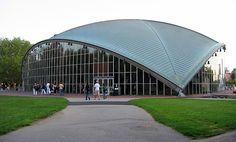 Eero Saarinen's Kresge Auditorium at MIT.