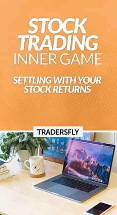 Stock Trading Inner Game - Learn the art of settling with your stock returns! Check this out! Stock Trader, Day Trader, Make More Money, Make Money From Home, Stock Market Basics, Forex Trading Basics, Stock Charts, Knowledge And Wisdom, Educational Videos