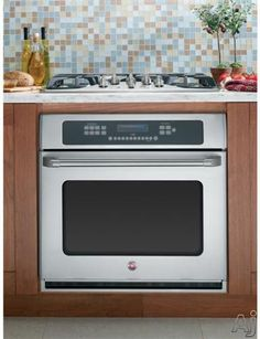 Love the look of a built in wall oven with cooktop above. A cleaner, simpler look than a traditional range, and similar pricing!
