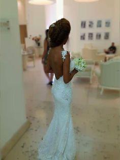 Think I just found my wedding dress Wedding Dress Styles, Wedding Attire, Wedding Gowns, Lace Wedding, Wedding Wishes, Wedding Bells, Perfect Wedding, Dream Wedding, Elle Magazine