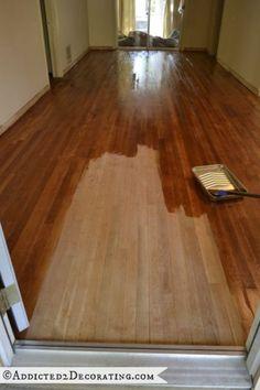 My Diy Refinished Hardwood Floors Are Finished