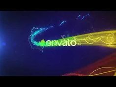 Colorful Particle Logo Reveal After Effects Template